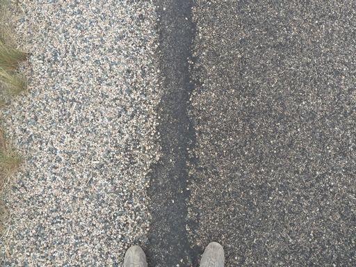 rubber, street