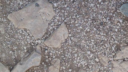 gravel, rocks