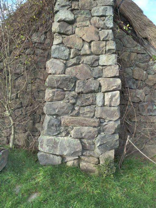 chimney, stone