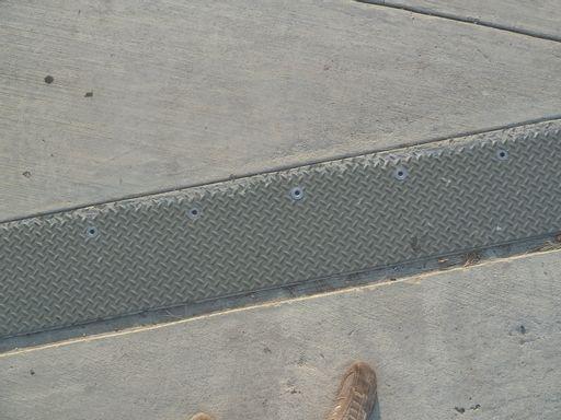 metal, sidewalk, street