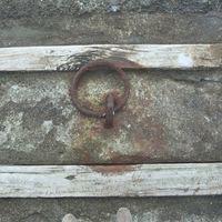 beton, jetty, metal, timber, wood